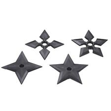 Polypropylene Martial Arts Ninja Throwing Stars Set Of 4 Theatre Props Weapons
