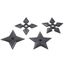 Polypropylene Martial Arts Full Contact Ninja Throwing Stars Shuriken Set Of 4