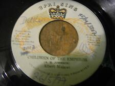 "ALBERT MALAWI 7"" CHILDREN OF THE EMPEROR  ORIGINAL PRESSING KILLER ROOTS REGGAE"