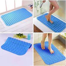 Alta Calidad Azul Grande Succión Anti Ducha Baño Antideslizante Estera de masaje de pies Reino Unido