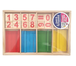 Counting Sticks And Numbers Kids Children Maths Game Learning Educational Toy