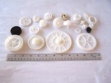 Assorted Plastic Gears from Printers 20 pcs. used for Art and Craft Supply
