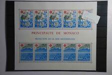 G1 Europa Monaco CEPT Blocco 32 Fresco Posta