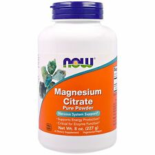 Now Foods, Magnesium Citrate Pure Powder, 8 oz