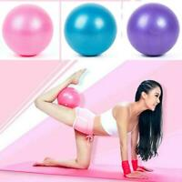 25cm Yoga Ball Exercise Gymnastic Fitness Pilates Ball New X9T0