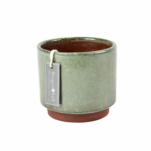 Burgon & Ball Malibu Green Medium Glazed Pot