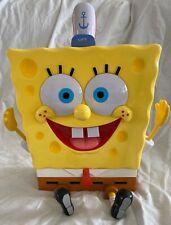 SpongeBob Squarepants Talking Plastic Cookie Jar Fundamental Tested