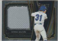 2020 Select Baseball Donnie Walton Rookie Jumbo Swatch  Seattle Mariners