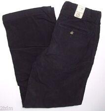 New Gap Kids Boy Girl Adjustable Waist Cotton Corduroy Pants Navy Blue size 10