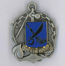 Insigne de Beret  Fusiliers Marins Drago