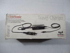 OEM ViewSonic Tablet PC V1250 Travel Charger CAR4A082VS Model VS10123-1W Genuine