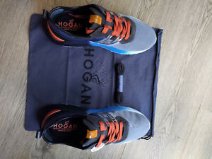 HOGAN Men Shoes Active One with Original Box + Spare laces and dust bag