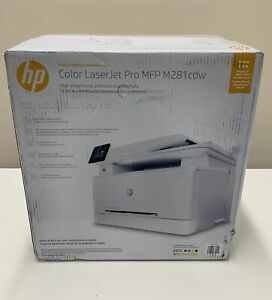 HP T6B82A T6B83A Color Laserjet M281FDW/CDW MFP - NEW OPEN BOX!