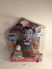 """Vampirina Vee Bat-tastic Talking Doll & Wolfie Wings Light Up Disney Junior 12"""""""