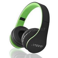 Plegable Inalámbrico Bluetooth Headset Estéreo Auriculares FM Radio TF MP3 Mic