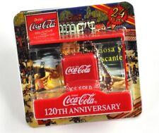 BEL Coca-Cola GIAPPONE COKE catena chiave key chain - Rosso FRIGO PORTATILE O.