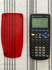 TEXAS INSTRUMENTS TI-89 GRAPHING CALCULATOR WORKS PERFECTLY WITH CASE