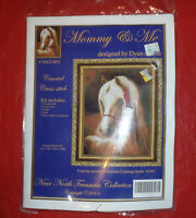 Counted Cross-stitch Mommy & Me Kit #NNT-003 - Near North Treasures Collection