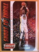 2018-19 Panini Threads Shoot To Thrill 13 Kevin Durant