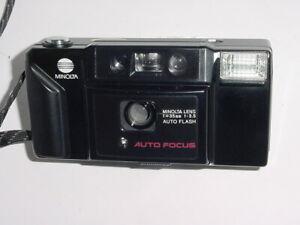 MINOLTA AF-E Auto Focus Point & Shoot Compact 35mm Film Camera w/ 35/3.5 Lens