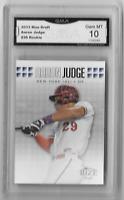 AARON JUDGE Yankees 2013 Rize Draft Rookie Card