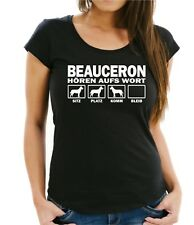 WOMAN T-Shirt BEAUCERON HÖREN AUFS WORT by Siviwonder