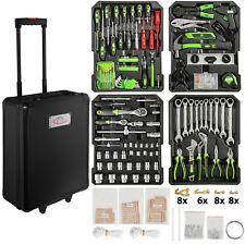 Valise à outils trolley 899 pièces boite Mallette à tire caisse aluminium noir