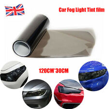 30x120cm Medium Smoke Headlight tail light Tint Film Fog Vinyl waterproof Black