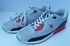 Polo Men's Shoes Sport Flag Pony Red Gray Black 9.5 US 8.5 UK 43 EUR 21690219S