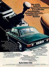 Audi-100-LS-Limousine-1969-Reklame-Werbung-vintage print ad-Publicidad