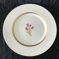 Lenox Cinderella Old Fine China Dinner Plate 10 78 V308 Discontinued Gold Edge