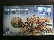 2007 AFL Premiers Geelong Cats Medallion Cover PNC