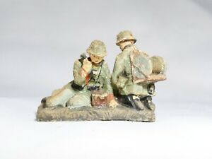 Elastolin Soldiers Germans Radio Old 65 MM