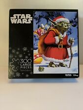 Star Wars Christmas YODA  Jigsaw Puzzle 300 Large Piece 21.25in x 15in  Holiday