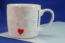 Unusual Heart & Subtle Imagery Starbucks Coffee Cup/Mug.