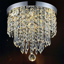 Chandelier Pendant Lamp Small Crystal Lamparas De Techo Modernas Shade 1 Light