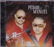 Pedro Manuel Fui Valiente Fui el M1 CD New Nuevo Sealed