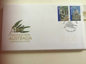 Australia First Day Cover FDC  Greetings from Australia Carlton 3053
