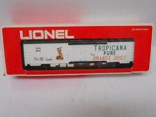 Lionel 6-9861 Tropicana Billboard Reefer Car O GAUGE