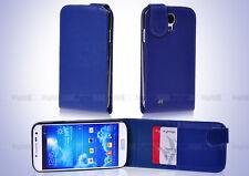 Blue Flip & GEL 4in1 Accessory Bundle Kit Case Cover F Samsung Galaxy S IV S4