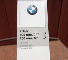 Genuine BMW F32 F33 Wiper Blade Set Front Side OEM 61612349870 435i 440i 430