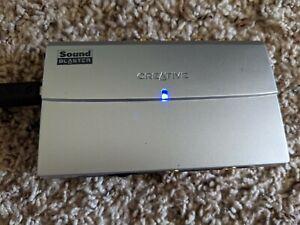 Creative Labs USB External Sound Card Sound Blaster Model SB0270
