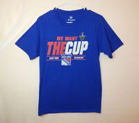 New York Rangers 2016 NHL Hockey Stanley Cup Playoffs T Shirt Size SMALL S