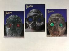 THE PHANTOM (Inkworks 1996) Complete FOILWORKS SKULLS Chase Card Set (F1 F2 F3)