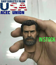 IN STOCK 1/6 Wolverine Head w/ neck Old Hugh Jackman For Logan X-men USA SELLER
