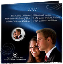 Canada 2011 25 Cent  H.R.H. Prince William& Miss Catherine Wedding Coin Set
