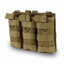 OUTRY FOR M4 M16 AR15 Magazine Pouch Open Top Mag Holder Triple Double Single