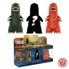 "Funko Godzilla 3"" Mystery Minis 23361 3 pack | Vinyl Godzilla Pack of 3 NEW"