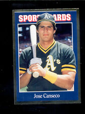 1992 Sports Card News JOSE CANSECO Oakland Athletics Magazine Card