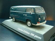 + VOLKSWAGEN VW T2 a Bus Transporter neptunblau Premium Classixxs in 1:43 11260